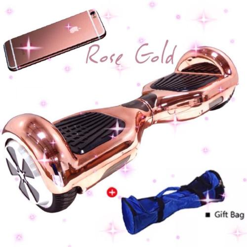 Rose Golden Chrome Iphone Totalhover Hoverboard W Samsung Sdi Battery 299 169 Totalhover Com