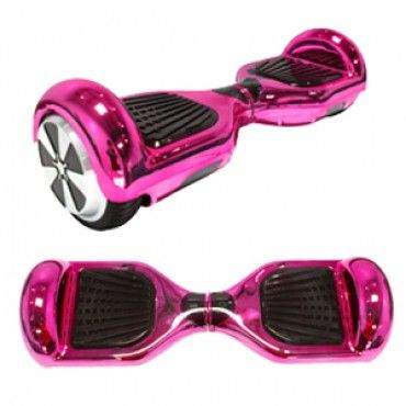 Pink chrome totalhover hoverboard samsung sdi battery for Housse hoverboard